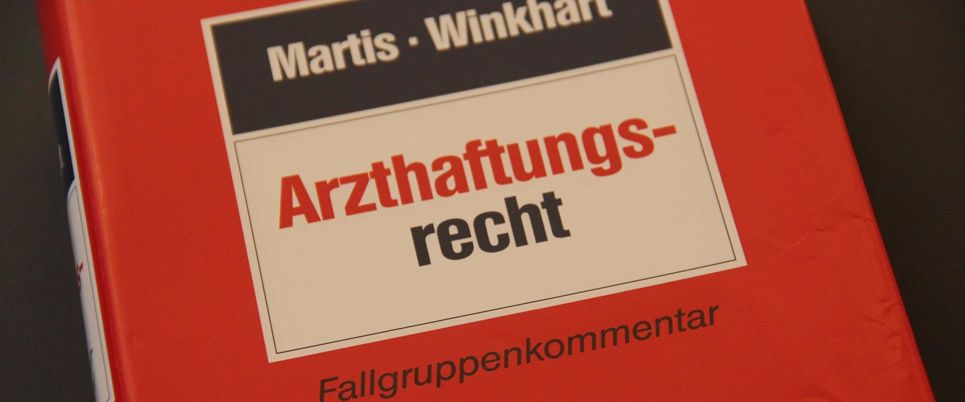 Arzthaftungsrecht bei Menter in Landshut